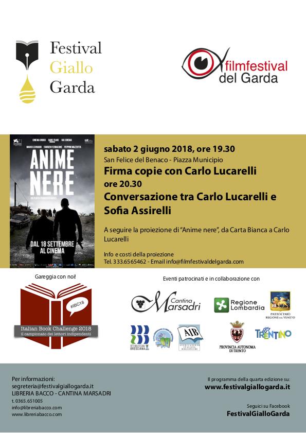 Firma copie con Carlo Lucarelli