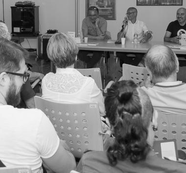 "Gli scrittori Alessandro Berselli e Festival Giallo Garda - Gianluca Morozzi presentano ""KAMASUTRA KEVIN"" e ""L'UOMO LISCIO"""