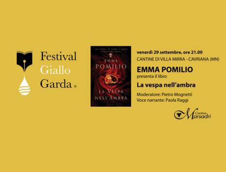 """Emma Pomilio presenta """"La vespa nell'ambra"""""""
