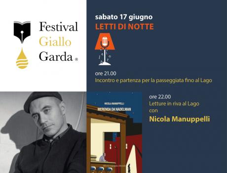 Festival Giallo Garda - 17 giugno 2017 Letti di notte con Nicola Manuppelli