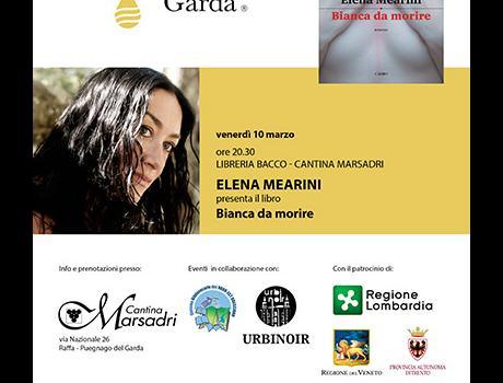 """Festival Giallo Garda - Elena Mearini presenta il libro """"Bianca da morire"""""""