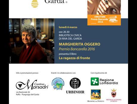"""Festival Giallo Garda - Margherita Oggero presenta """"La ragazza di fronte"""""""