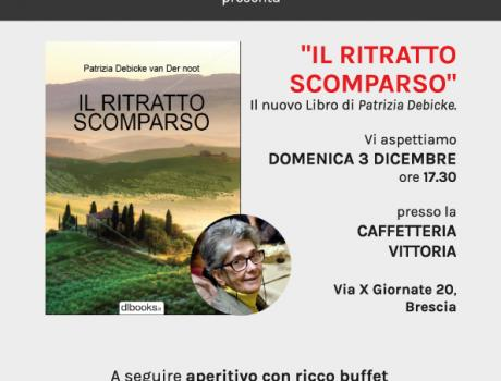 """Patrizia Debicke presenta """"Il Ritratto Scomparso"""""""