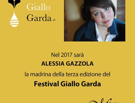 Inaugurazione 3a edizione del Festival Giallo Garda con Alessia Gazzola