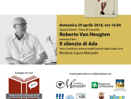"Roberto Van Heugten presenta il libro ""Il silenzio di Ada"""