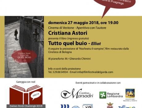 """Cristiana Astori presenta """"Tutto quel buio"""""""