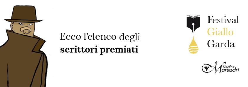 Vincitori Premio Letterario Festival Giallo Garda